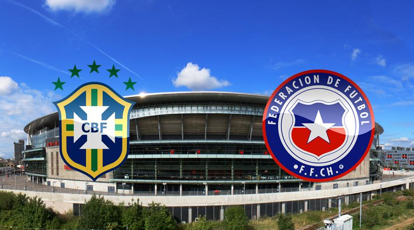 Товарищеский матч. Бразилия - Чили 1:0. Победный гол Фирмино (Видео)