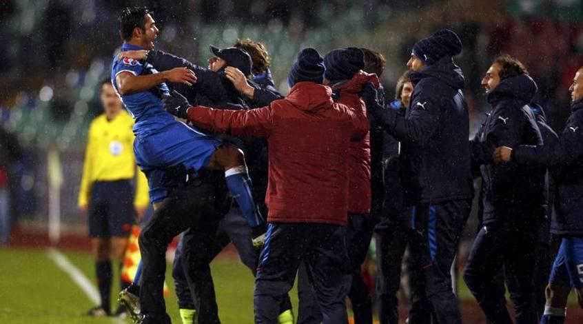 Болгария - Италия 2:2. Джокеры Конте