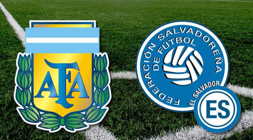 Товарищеский матч. Сальвадор - Аргентина 0:2. Справились без Месси (Видео)