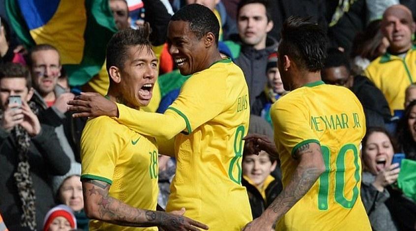 Бразилия - Чили 1:0. В ритме румбы
