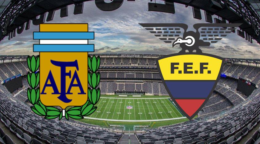 Аргентина – Эквадор. Анонс и прогноз матча