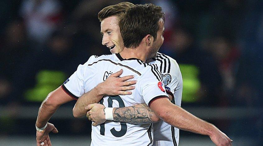 Грузия - Германия 0:2. Заслуженная победа