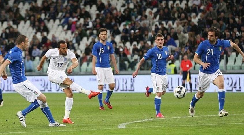 Италия - Англия 1:1. Возможность для экспериментов