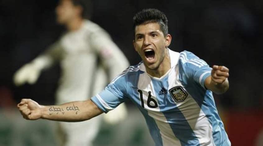 Аргентина – Эквадор 2:1. Агуэро использует шанс