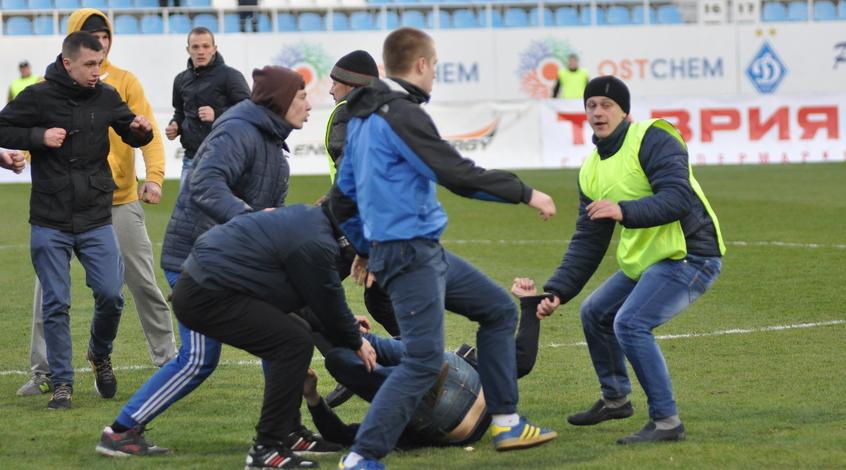 """Черноморцу"" грозит матч без зрителей (+ фото)"