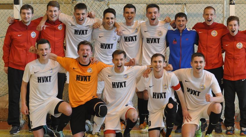 Команда НУХТ – чемпион Киева по футзалу (Фото)