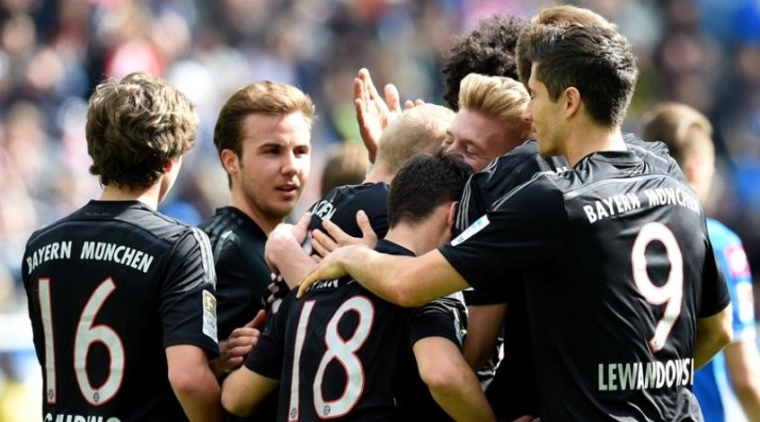 """""""Хоффенхайм"""" - """"Бавария"""" 0:2. Это вам не то"""