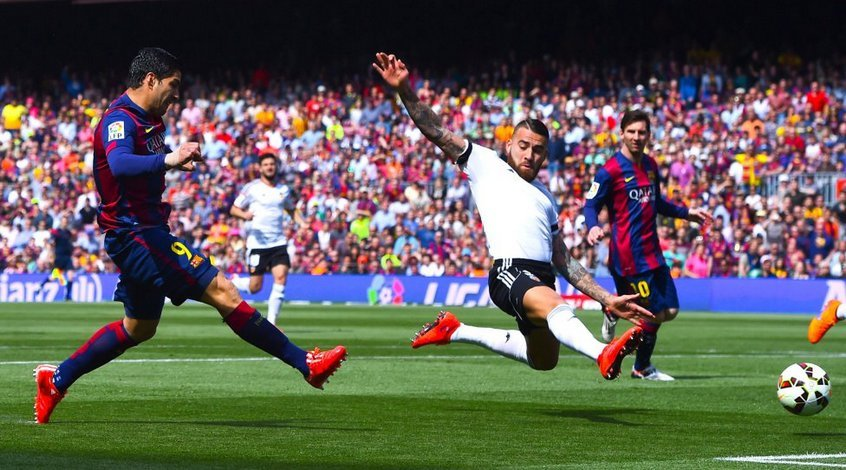 """Барселона"" - ""Валенсия"" 2:0. Победные секунды каталонцев"