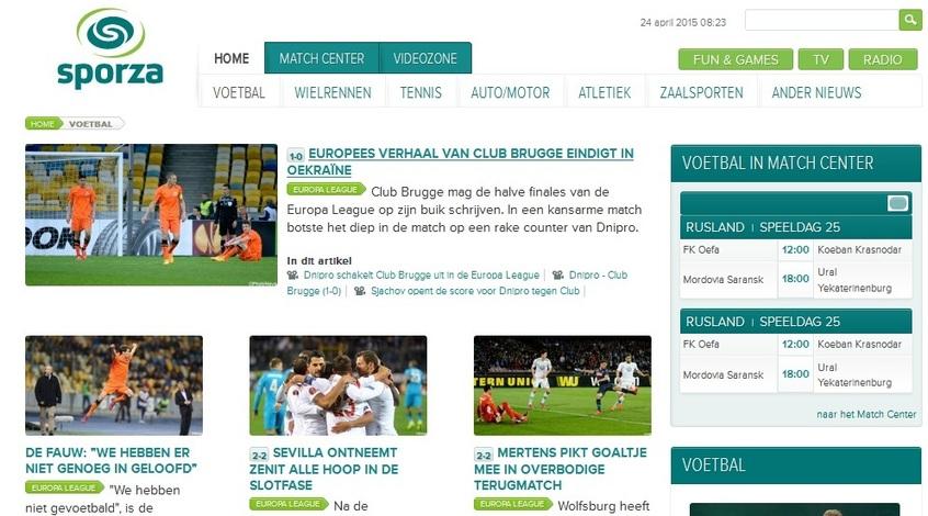 """""""Днепр"""" - """"Брюгге"""": обзор бельгийской прессы"""
