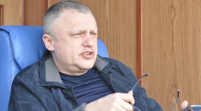 """Игорь Суркис: """"Я могу дискутировать с Ахметовым, Палкин – это не мой уровень"""""""