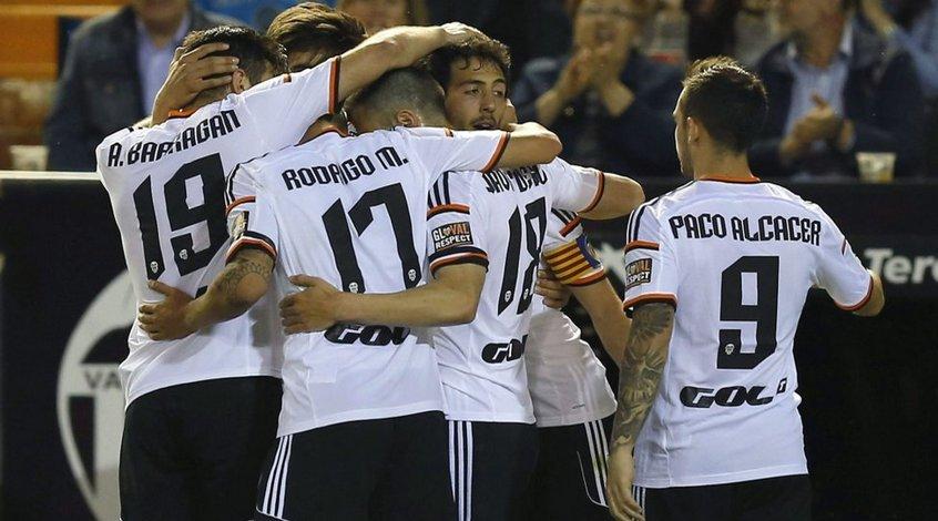 """""""Валенсия"""" - """"Гранада"""" 4:0. Дважды два"""