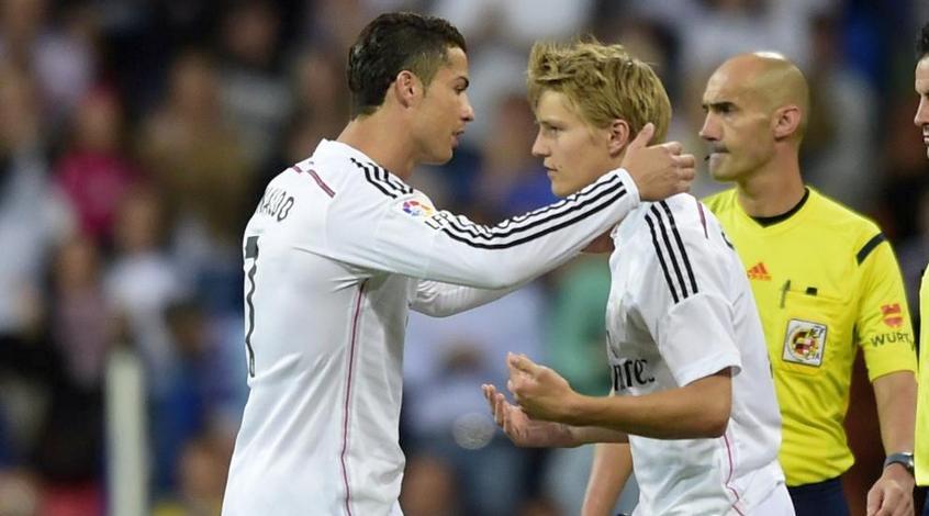 """Мартин Эдегор: """"Не жалею о переходе в """"Реал"""", ведь это лучший клуб в мире"""""""