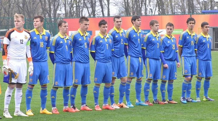 Сборная Украины U-20: дождь мешает тренироваться