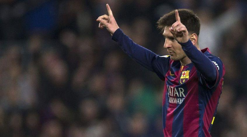 Лионель Месси лучший игрок пятого тура Лиги чемпионов, Андрей Ярмоленко - четвертый