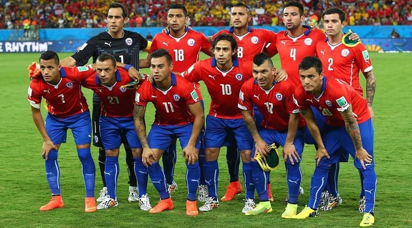 Картинки по запросу сборная чили по футболу 2019