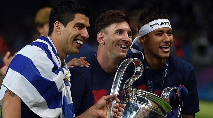 """""""Барселона"""": трио """"MSN"""" (Фото)"""