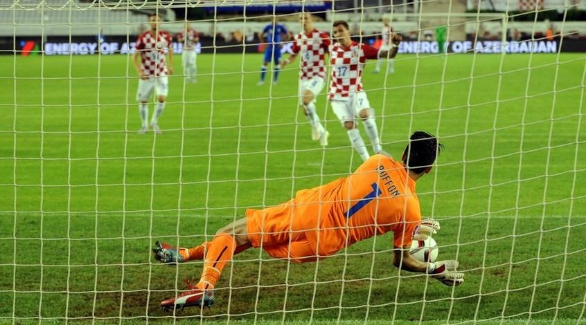 Хорватия - Италия 1:1. Все довольны