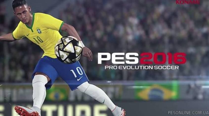 Трейлер нового футбольного симулятора PES 2016 (Видео)