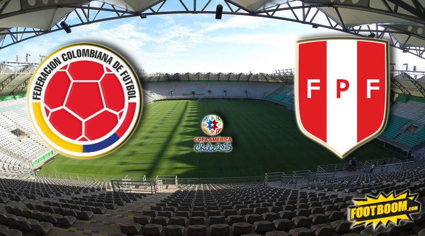 Колумбия – Перу. Анонс и прогноз матча