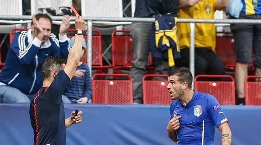 Италия (U-21): Стефано Стураро получил три матча дисквалификации