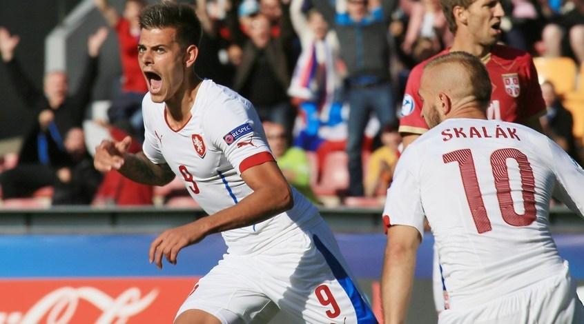 Евро-2015 U-21. Сербия - Чехия 0:4. Лови Климент