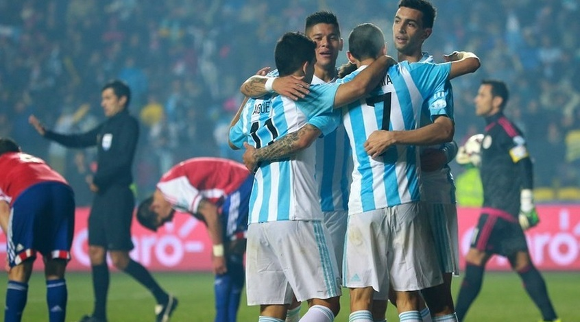 Аргентина - Парагвай 6:1. Всё бывает в первый раз