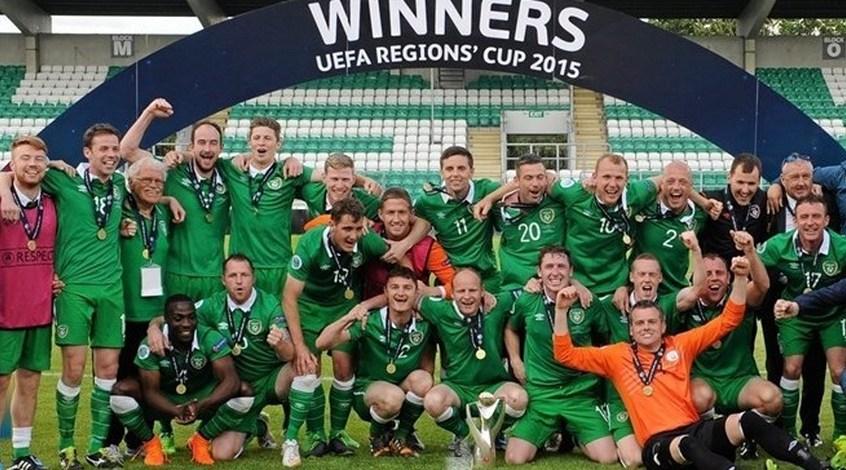Кубок регионов УЕФА. Восточный регион (Ирландия) - сильнейшая аматорская команда Европы 