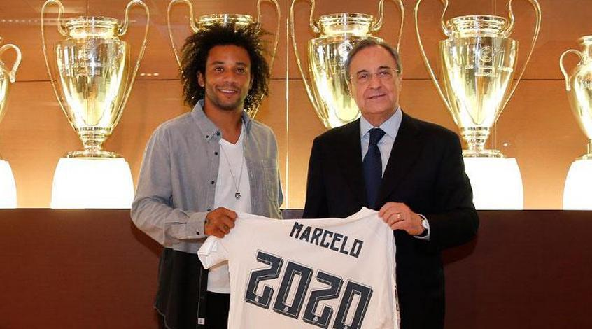 "Официально: ""Реал"" объявил о продлении контракта с Марсело"