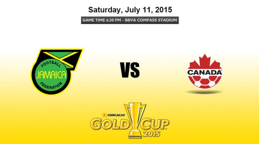 Золотой Кубок КОНКАКАФ-2015. Ямайка - Канада 1:0. Победа в добавленное время (Видео)