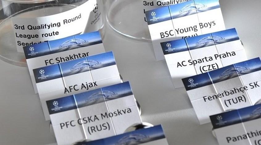 """Сегодня """"Шахтер"""" узнает соперника в Лиге чемпионов"""