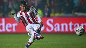 Дерлис Гонсалес забил Мексике в матче за сборную Парагвая