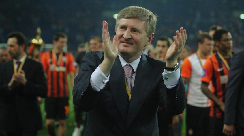 """Ринат Ахметов: """"Большая честь, что команда носит гордое имя """"Шахтер"""""""