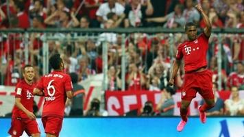 """Бавария"" - ""Гамбург"" 5:0. ""Гол плюс пас"" Дугласа Косты (Видео)"