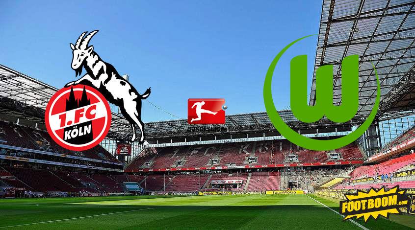 Футбол онлайн вольфсбург кельн