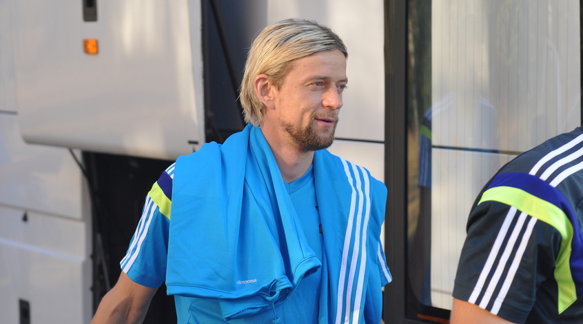 Невероятная точность капитана сборной Украины (+ Видео)