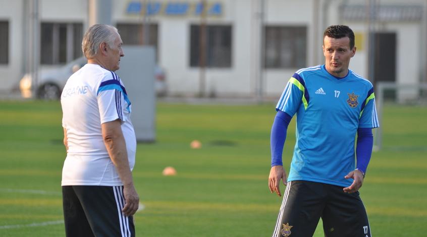Пятов и Федецкий помогут сборной Украины в матче со словенцами