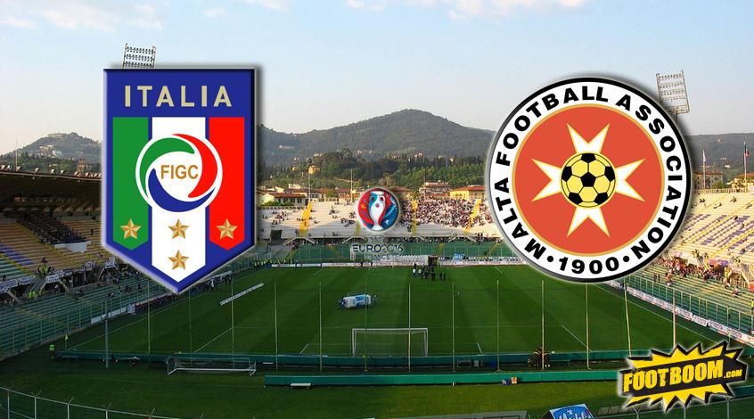Отбор к Евро-2016. Италия - Мальта. Анонс и прогноз матча
