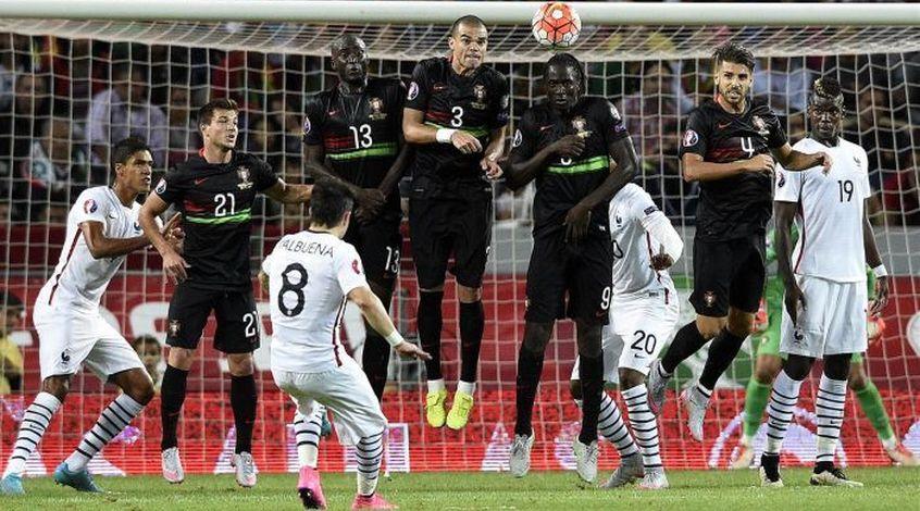 Товарищеский матч. Португалия – Франция 0:1. МАТЬЁрая команда