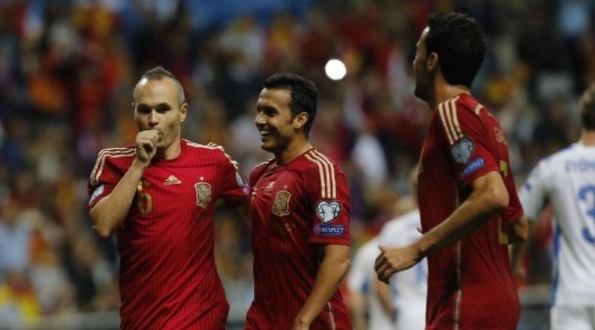 Отбор к Евро-2016. Испания - Словакия 2:0. Фирменный стиль