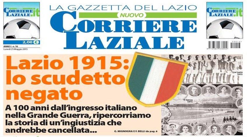 """Петиция болельщиков """"Лацио"""" о возвращении скудетто 1915 года собрала 24 700 голосов"""