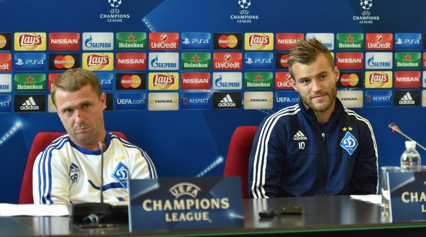 Андрей Ярмоленко: в прессе и по телевизору говорят, что мы уже прошли в следующий этап Лиги чемпионов