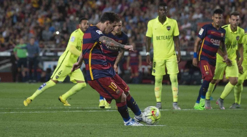 Месси - худший исполнитель пенальти в Испании за последние 10 сезонов