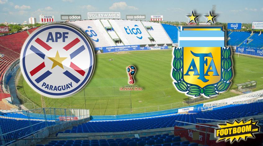 Отборочные матчи чемпионата мира 2018 аргентина парагвай