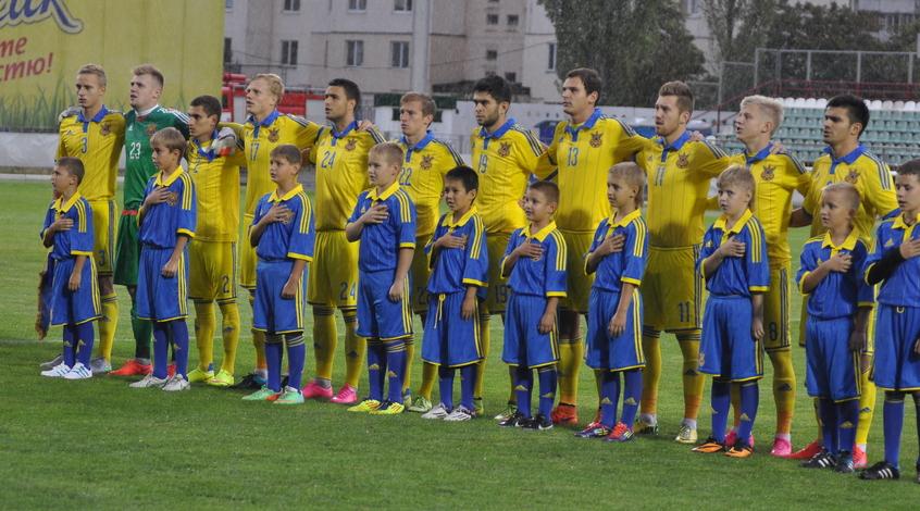 Молодежная сборная Украины в январе сыграет с Данией и азиатскими сборными