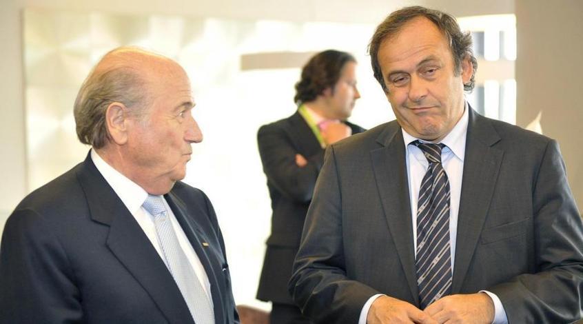 Йозеф Блаттер и Мишель Платини могут покинуть футбол на долгие годы