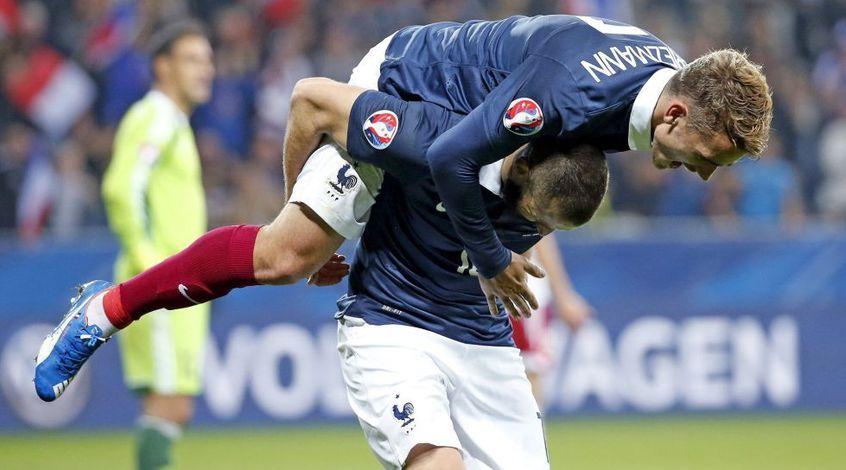 William Hill: коэффициент 3,20 на гол Гризманна в ворота сборной Голландии