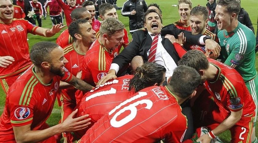Сборная Уэльса впервые в истории завоевала путевку на чемпионат Европы