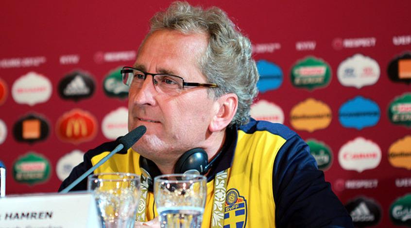 Эрик Хамрен назвал состав сборной Швеции на матчи плей-офф против Дании