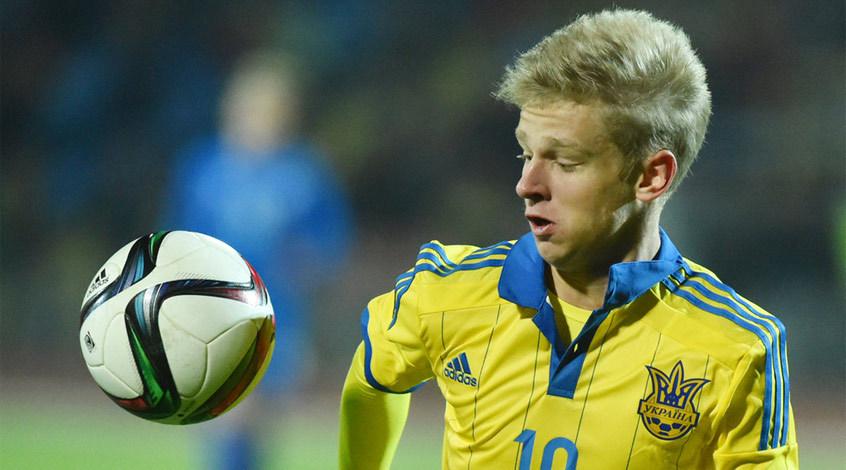 Александр Зинченко дебютировал за сборную Украины