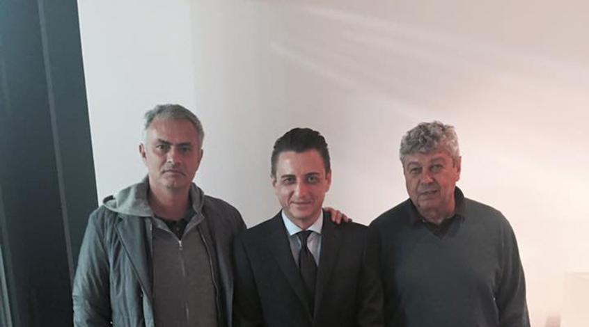 Мирча Луческу рассказал о чем беседовал с Жозе Моуриньо